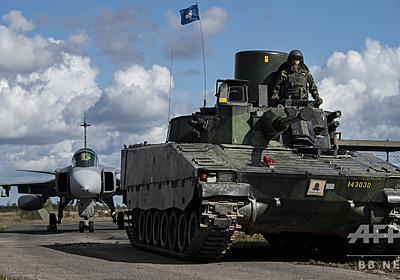 スウェーデン、防衛費40%増額へ 欧州での緊張高まり受け 写真1枚 国際ニュース:AFPBB News