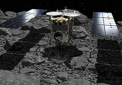 はやぶさ2:危険伴う2回目のリュウグウ着陸「するか」「しないか」惑星協会がメッセージ募集 - 毎日新聞