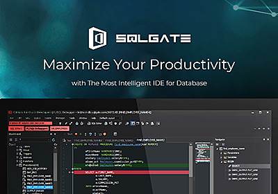 SQLGate - The Most Intelligent IDE for Database