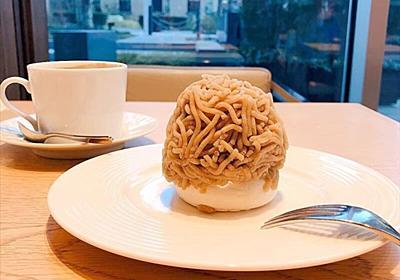 最高に美味しいモンブランとお得なケーキセット ラ・プレシューズ紀尾井町
