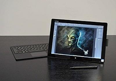商品化に大きく前進した「VAIOタブレット」 - Adobe MAX 2014でクリエイターの反応に大きな手応え (1) 初公開されたVAIO Prototype Tablet PC | マイナビニュース