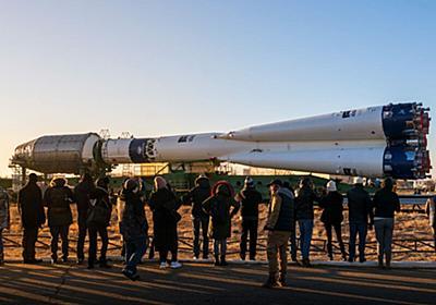 青と白の特別な塗装を施したソユーズロケット、打ち上げへ | sorae 宇宙へのポータルサイト