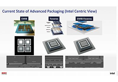 Intel Packaging Update - 「Foveros」と「EMIB」による高密度実装、HotChipsで最新世代の新情報 | マイナビニュース