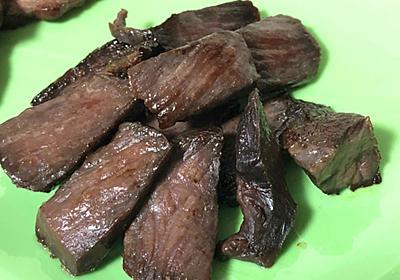 史上最強のおつまみ発見か!? 津山名物「干し肉」が衝撃のうまさ、牛肉のうまみジュワーッに手が止まらない - ねとらぼ