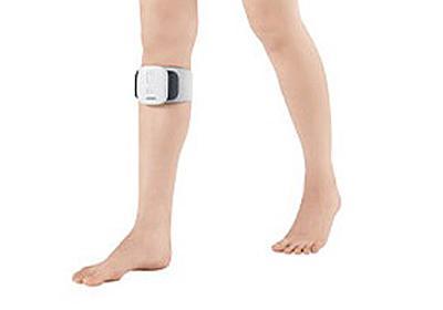 オムロン、電気刺激でひざの痛みをやわらげて歩行をサポートする「ひざ電気治療バンド」 - 家電 Watch