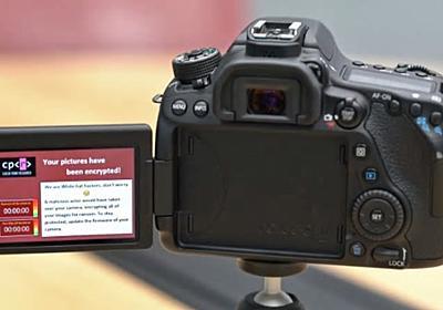 コワッ、一眼レフカメラもウイルス感染してロックされるって... | ギズモード・ジャパン