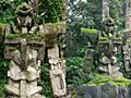 どう見てもガンダムな石像がインドネシアで発見される、地元民は数百年前のものと証言か - GIGAZINE