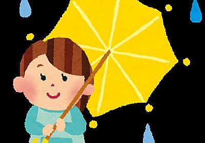 傘にまつわる子供時代の強烈な思い出!ミニマリストの現在は2本で快適。 - ミニマリスト三昧