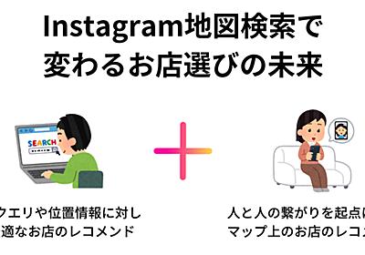 それは黒船か?Instagram地図検索で変わるお店選びの未来 長谷川 翔一 / 編集とマーケティング note