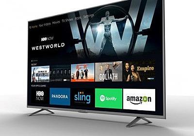 CES 2017 : Amazon Fire TVの機能を内蔵した4Kテレビが家電メーカーより発表 | juggly.cn