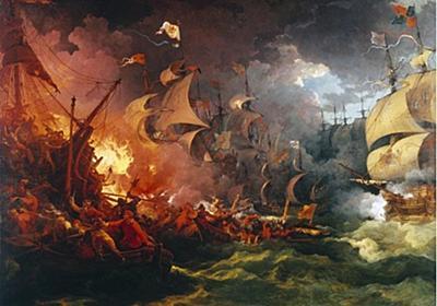 火船戦術の極み。史上最大の大量破壊兵器と称される浮遊爆弾「ヘルバーナー」の歴史(ヨーロッパ) : カラパイア