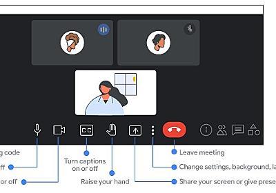 「Google Meet」のデスクトップ・ラップトップ向けUIが刷新 ~5月から展開へ - 窓の杜