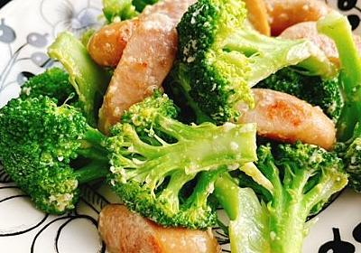 ブロッコリーとソーセージのマヨネーズ炒め(動画レシピ)/Broccoli and Sausage with mayonnaise. - お砂糖味醂なし生活!ほっこりおうちごはん