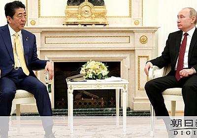 「北方領土」を口にしない安倍首相、ロシアの優位あらわ:朝日新聞デジタル