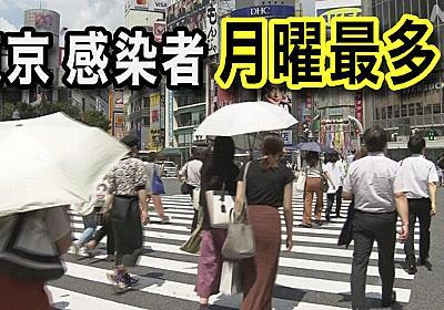 東京 コロナ感染急拡大続く 4連休は五輪で人出増加も…   新型コロナウイルス   NHKニュース