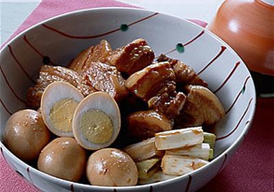 豚肉とゆで卵のしょうゆ煮   小川聖子さんのレシピ【オレンジページnet】プロに教わる簡単おいしい献立レシピ
