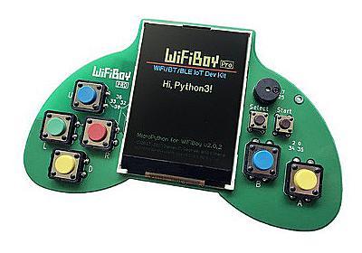 ゲームコントローラ型の開発ガジェット「WiFiBoy Pro」が入荷、計8ボタン - AKIBA PC Hotline!