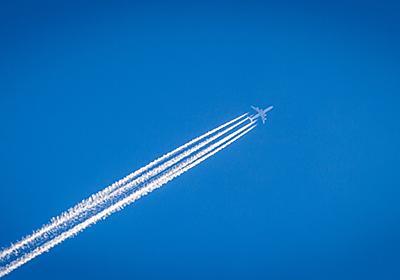 空に飛行機雲ができる理由。5歳の子供に説明できます?