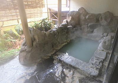 鳴子温泉郷川渡温泉 越後屋旅館で日帰り入浴 硫黄泉と炭酸水素塩泉の2つの源泉を持つ宿 - 温泉ブログ 山と温泉のきろく