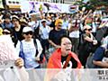 杉田水脈議員の発言「差別だ」「まず謝罪を」 抗議デモ:朝日新聞デジタル
