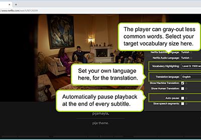 タチの良い時間泥棒ことNetflixを、最強の英語学習ツールに変えるChrome拡張機能が登場! | ギズモード・ジャパン