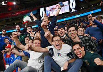 英、満員観戦で6千人超感染 サッカー欧州選手権 | 共同通信