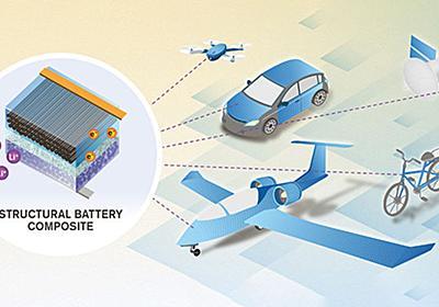 重さが実質ゼロのバッテリー「構造的バッテリー」とは? - GIGAZINE