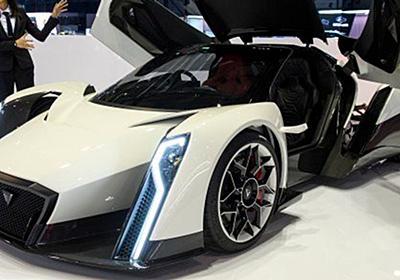 その名は「デンドロビウム」 1000馬力の電動スーパーカーの華麗な姿 | ハフポスト