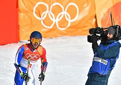 アルペン男子のフランス代表、平昌五輪追放に 競技後に暴言 写真1枚 国際ニュース:AFPBB News