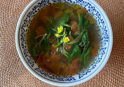 モロヘイヤスープ - お玉さんのレシピ