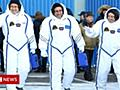 Japanese astronaut sorry for 9cm ISS growth mistake - BBC News