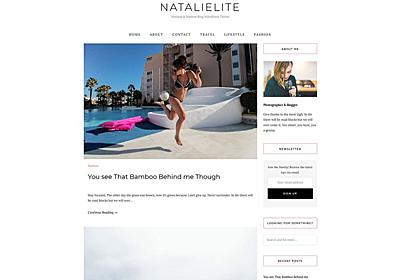 Natalie Lite – WordPress Theme Review
