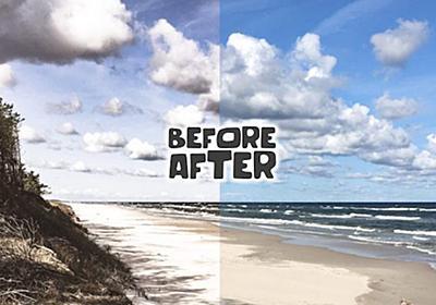 スワイプでBefore/Afterを表現するスライダー「Beer Slider」 | DesignDevelop