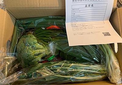 【ふるさと納税】6ヶ月定期便のお楽しみ「肥前の国のお野菜詰合せセット」 - ksakmh's blog