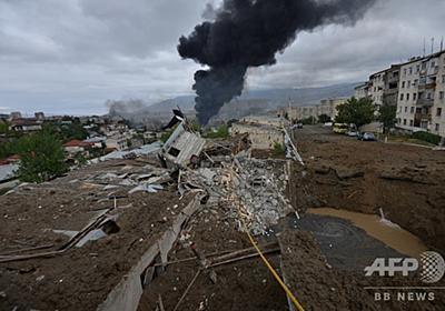 係争地めぐる戦火拡大 アルメニア軍、民間へのミサイル攻撃開始か 写真7枚 国際ニュース:AFPBB News