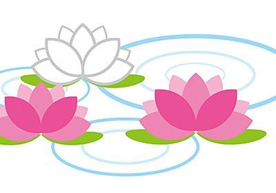 睡蓮(Water lily) │ Rinoのきまぐれイラスト店free