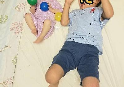 *4歳差兄妹の成長記録【5歳1ヵ月&1歳1ヵ月】2021年9月* - ゆーんの徒然日記