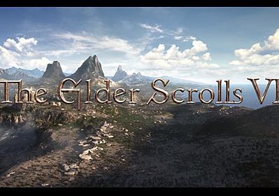 Bethesdaが『The Elder Scrolls VI』を正式発表。完全新作RPG『Starfield』の発売後にリリース   AUTOMATON