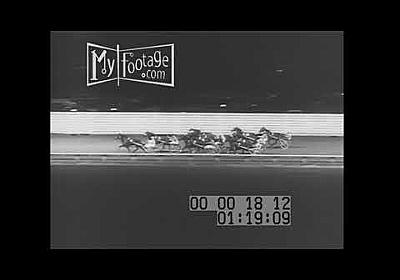1961 Yonkers Raceway Bert Alley Good Time Pace Chariot Racing - YouTube
