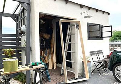 ランドリールームを隠し部屋に!秘密の隠しドアをDIY〜構想・ドア本体編〜 - 北欧ミッドセンチュリーの家づくり