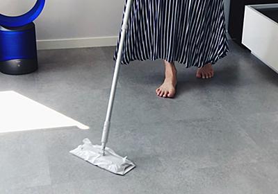 無印良品の「フローリングモップ」は、これ1本で床もお風呂の天井もピカピカにしてくれる。プロが選ぶのにも納得だね | ROOMIE(ルーミー)