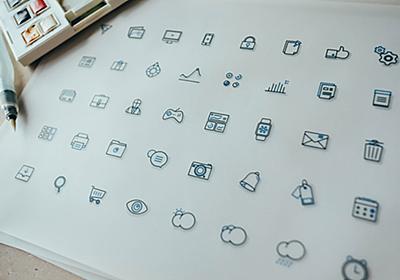 定番から個性的なデザインまで!シンプルで使いやすいフリーアイコンまとめ | DesignDevelop
