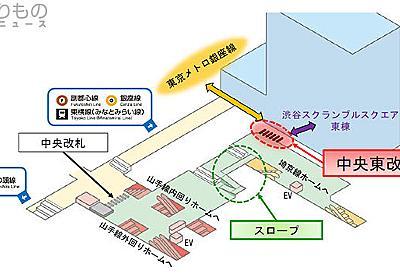 渋谷駅の混雑動線が改善へ JR「中央東改札」が誕生 銀座線への「人の流れ」分散 | 乗りものニュース