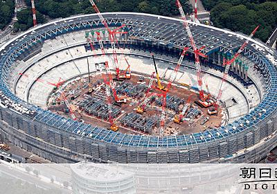 五輪経費6500億円、すでに国が支出 検査院指摘:朝日新聞デジタル