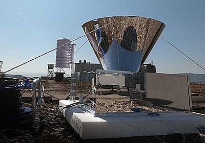 大気から飲料水を作る——電力不要で24時間稼働できる集水装置を開発 | fabcross