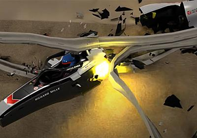 F1:ロマン・グロージャンの大クラッシュを3Dアニメーションで再現 【 F1-Gate.com 】