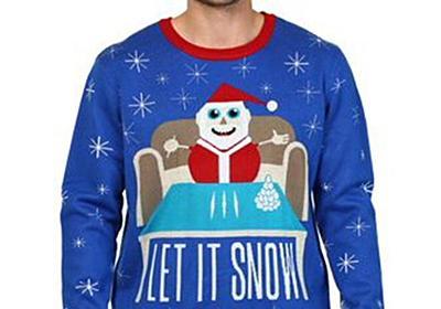 CNN.co.jp : 通販サイトのセーターにサンタとコカインの図柄? ウォルマートが謝罪