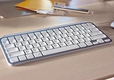 Logitech「MX Keys Mini」発表、テンキーレスでコンパクト、Boltに対応