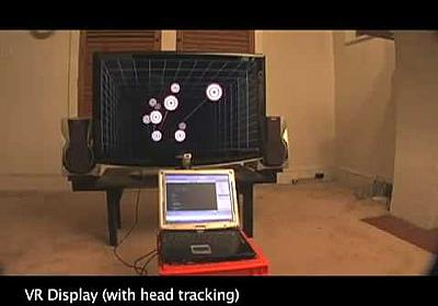 Head Tracking for Desktop VR Displays using the WiiRemote