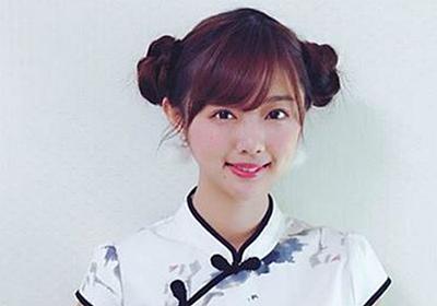 9頭身モデル・熊江琉唯、スラッと伸びた足でチャイナ服の魅力を120%引き出す